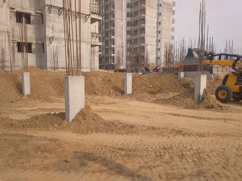 Earth Filling Work : Suncity projects